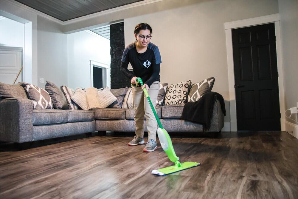 sweeping-floor
